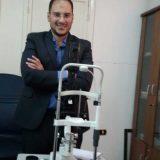 دكتور محمود العزيزى تاهيل بصري في القاهرة حدائق القبة