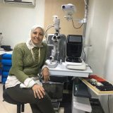 دكتورة مريم عبدالله - Mariam Abd Allah عيون في الجيزة الهرم