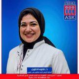 دكتورة نشوى الطويل امراض نساء وتوليد في الاسكندرية رشدي